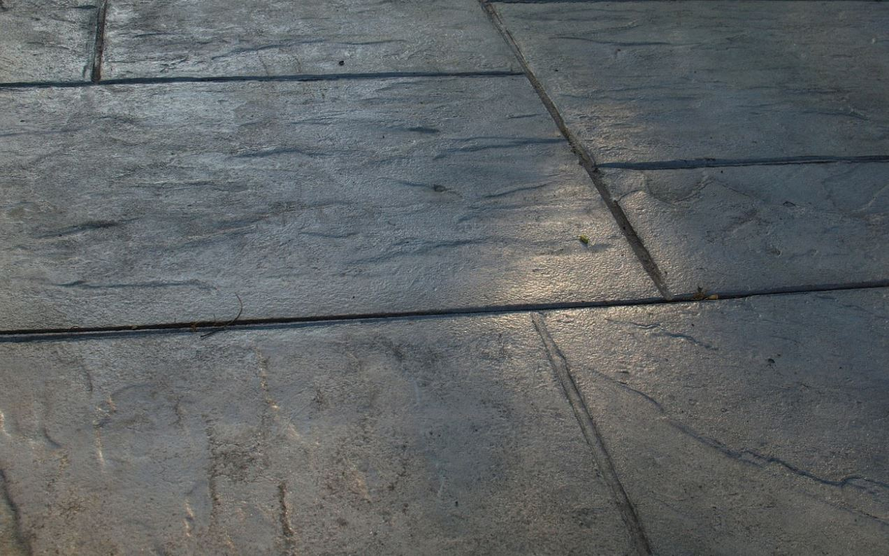concrete patio paint
